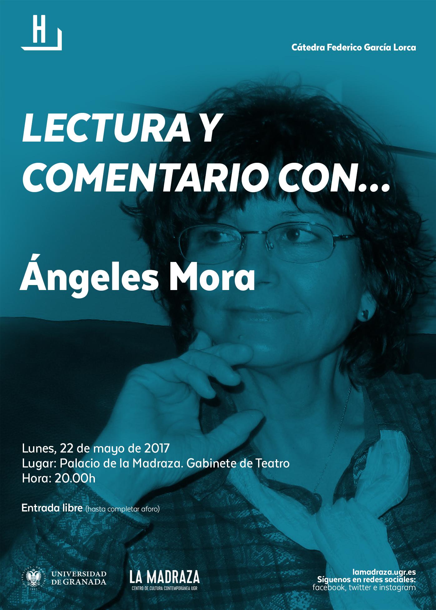 Imagen de portada de LECTURA Y COMENTARIO CON … ÁNGELES MORA