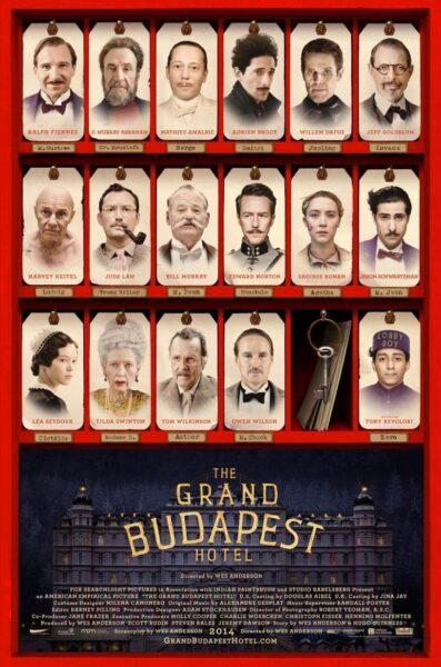Imagen de portada de EL GRAN HOTEL BUDAPEST (2014)