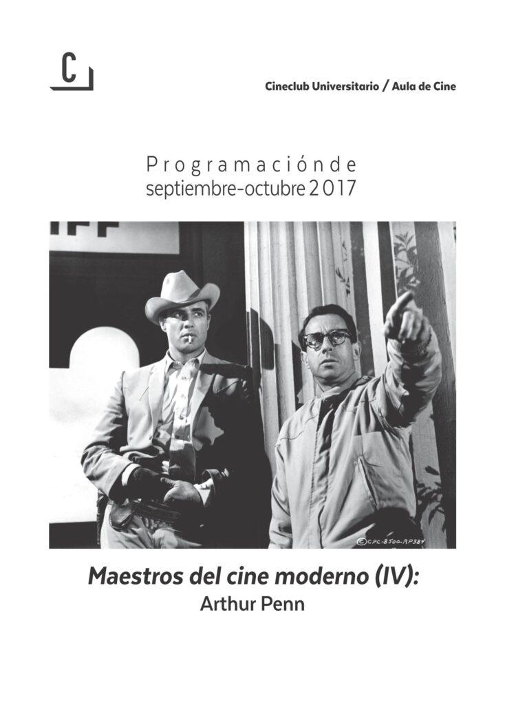 Imagen de portada de Maestros del cine moderno (IV): Arthur Penn