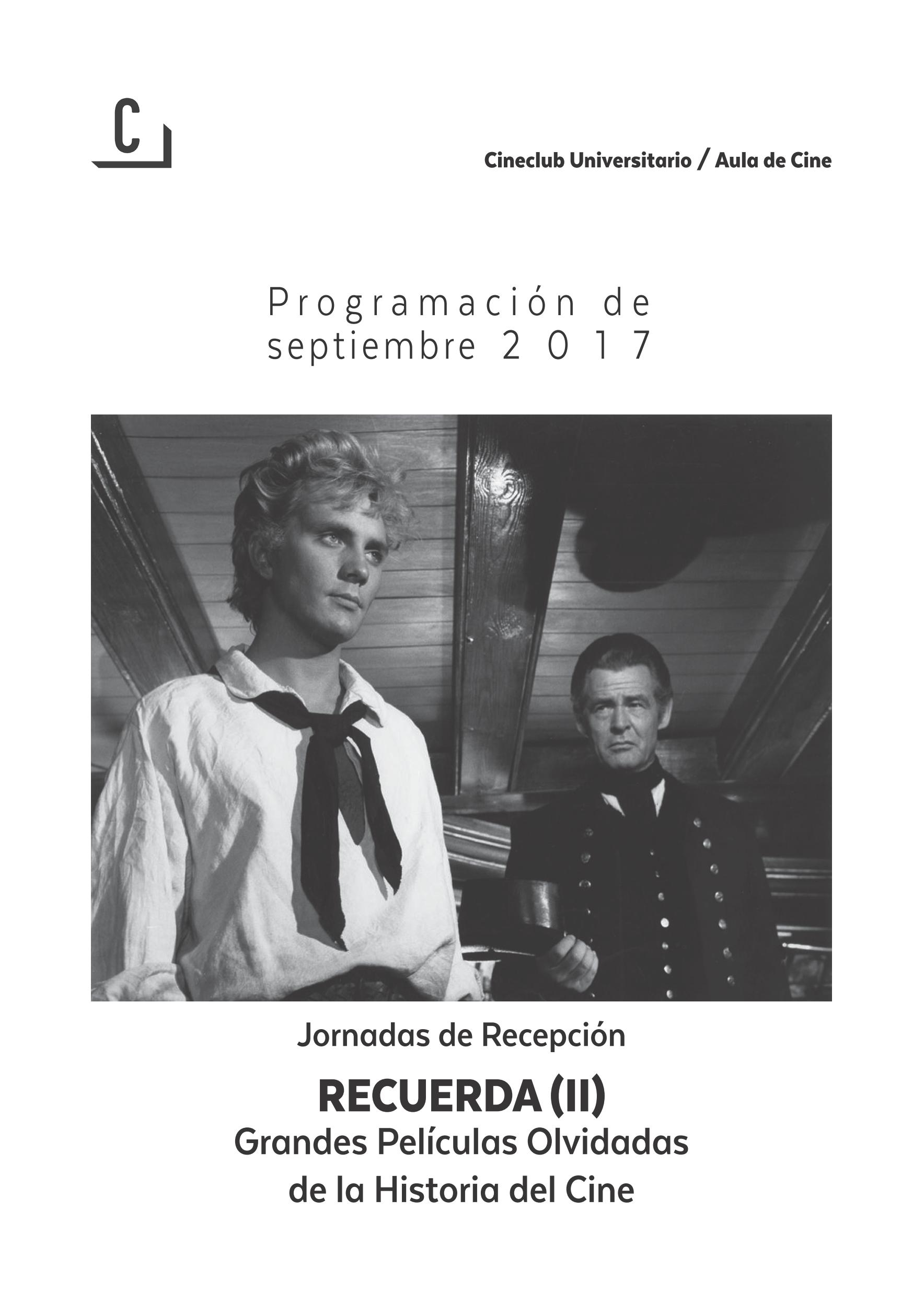 Imagen de portada de Jornadas de recepción: Recuerda (II)