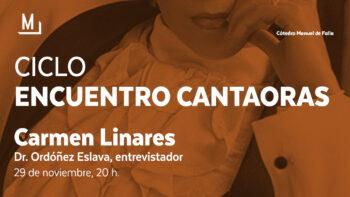 Imagen de portada de Encuentro con Carmen Linares