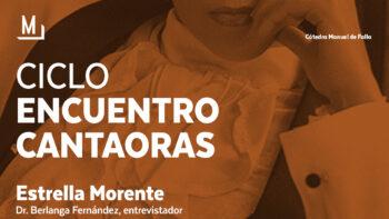 Imagen de portada de Encuentro con Estrella Morente