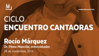 Imagen de portada de Encuentro con Rocío Márquez
