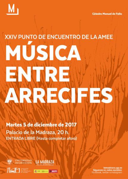 Imagen de portada de MÚSICA ENTRE ARRECIFES