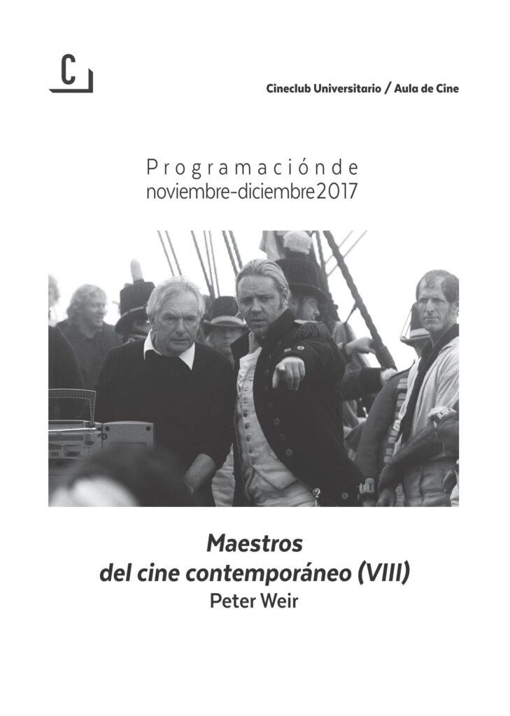 Imagen de portada de Maestros del cine contemporáneo (VIII): Peter Weir