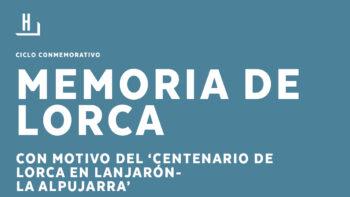 Imagen de portada de Presentación del libro «Lorca en el país de ninguna parte (Lanjarón-Alpujarra)»