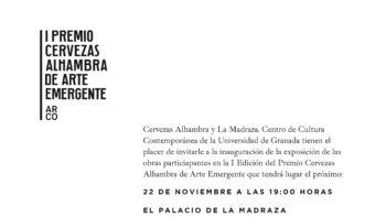 Imagen de portada de Exposición: I Premio Cervezas Alhambra de Arte Emergente