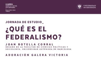 Imagen de portada de Conferencia «¿Qué es el federalismo?»