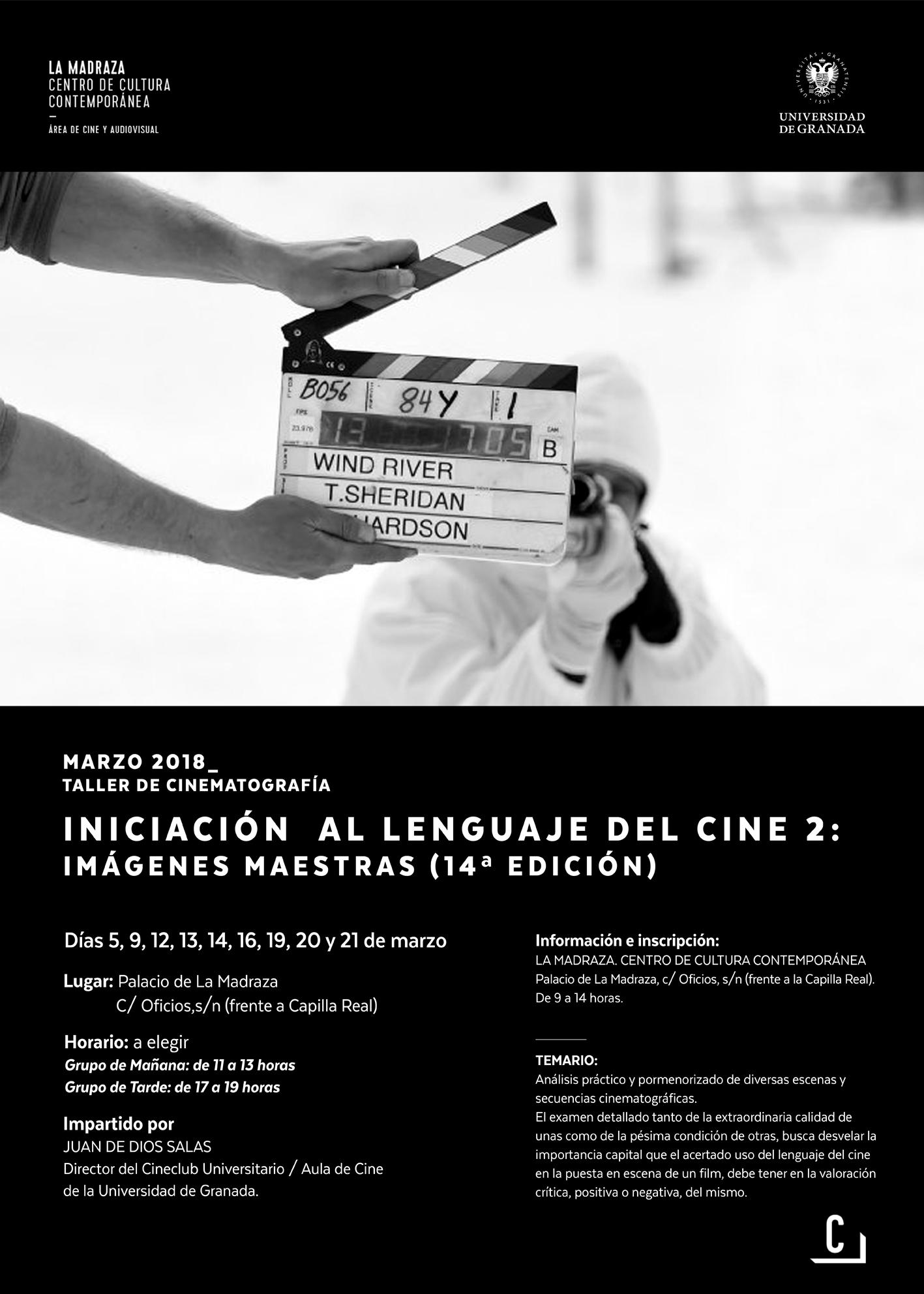 """Imagen de portada de Taller de cinematografía """"Iniciación al lenguaje del cine 2: Imágenes maestras (14ª ed.)"""
