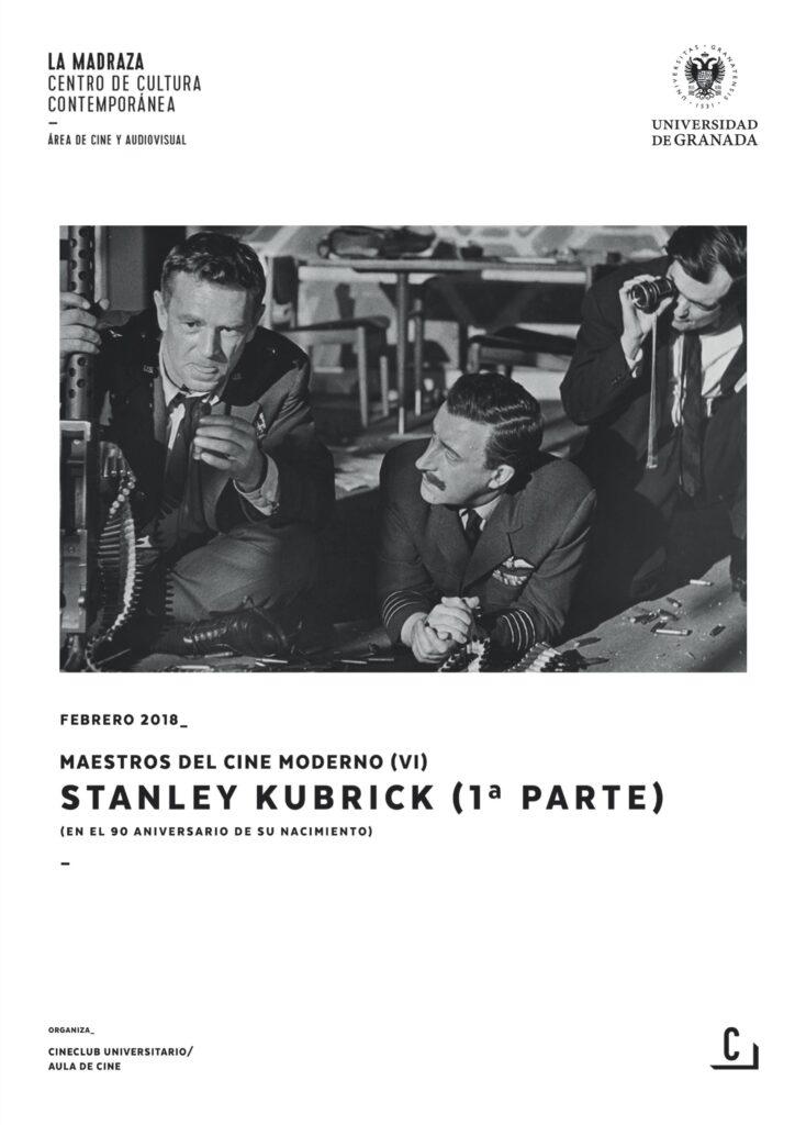 Imagen de portada de Maestros del cine moderno (VI): Stanley Kubrick (1ª parte)