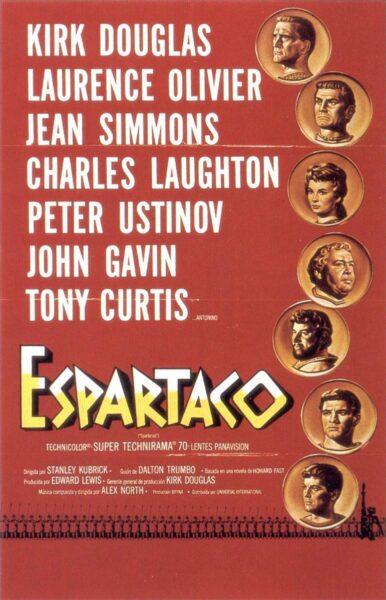 Imagen de portada de ESPARTACO (1960)