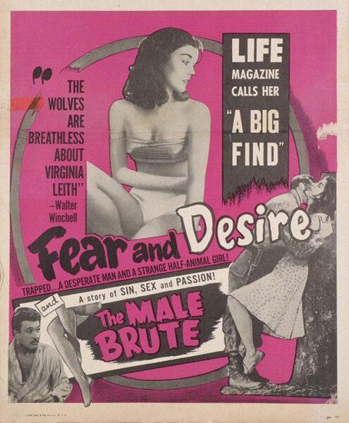 Imagen de portada de MIEDO Y DESEO (1953)