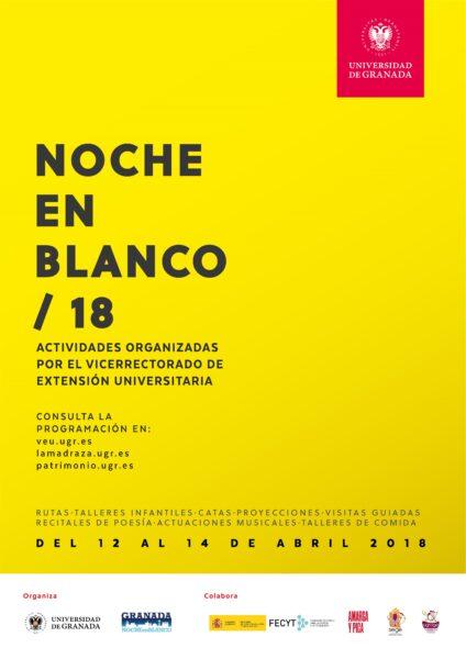 Imagen de portada de NOCHE EN BLANCO 2018