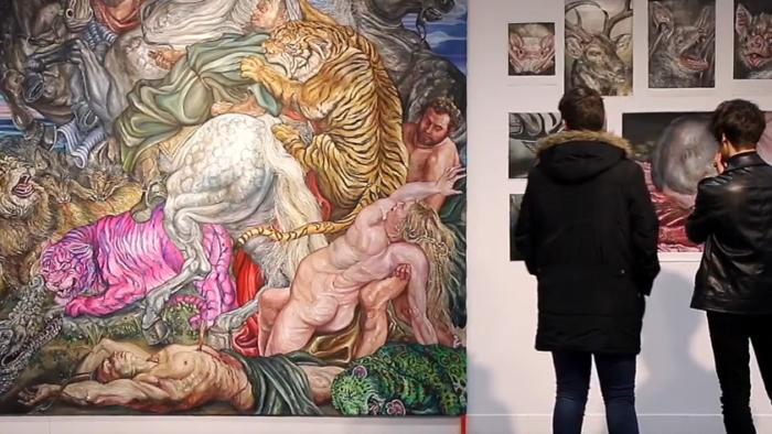 Imagen de portada de Exposición «Víscera Animal», de Miguel Scheroff