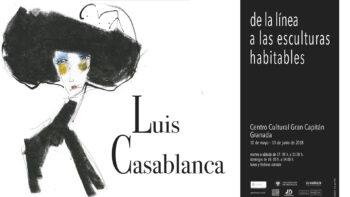 Imagen de portada de LUIS CASABLANCA De la línea a las esculturas habituales