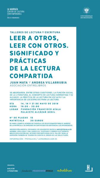 Imagen de portada de Taller «Leer a otros, leer con otros. Significado y prácticas de la lectura compartida»