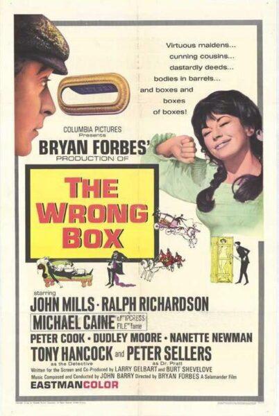 Imagen de portada de La caja de las sorpresas (1966). El cuestionamiento de los tópicos británicos en clave de humor