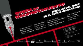 Imagen de portada de Rueda de reconocimiento. Huellas del noir en el cómic granadino