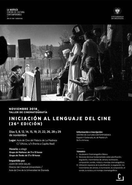 """Imagen de portada de Taller de cinematografía """"Iniciación al lenguaje del cine (26ª ed.)"""""""