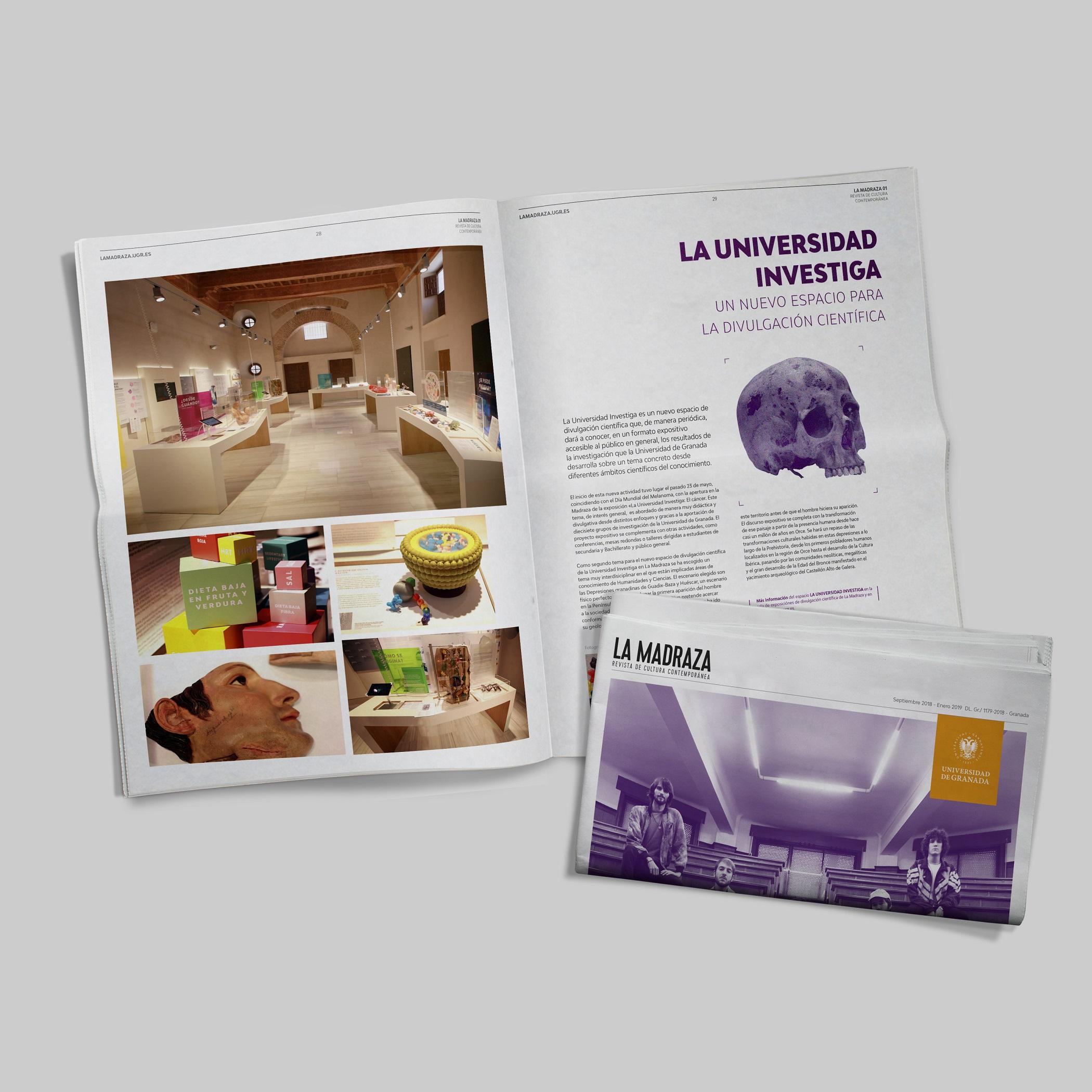 Imagen de portada de Revista LA MADRAZA (nº 1)