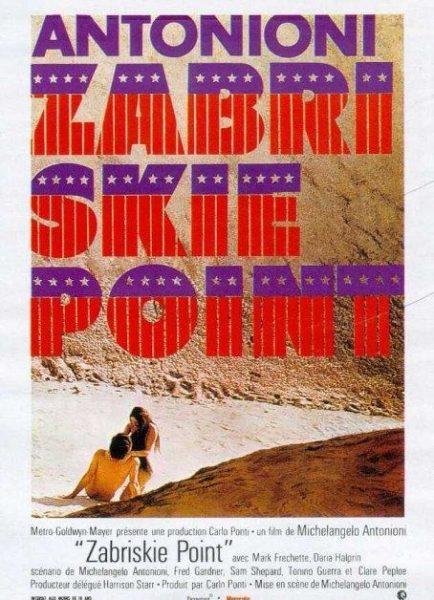Imagen de portada de ZABRISKIE POINT (1970)