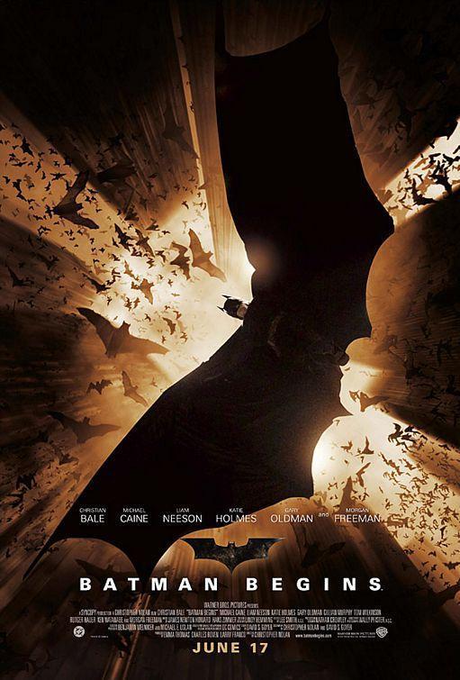 Imagen de portada de Batman begins (2005)