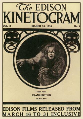 Imagen de portada de Frankenstein (1910)
