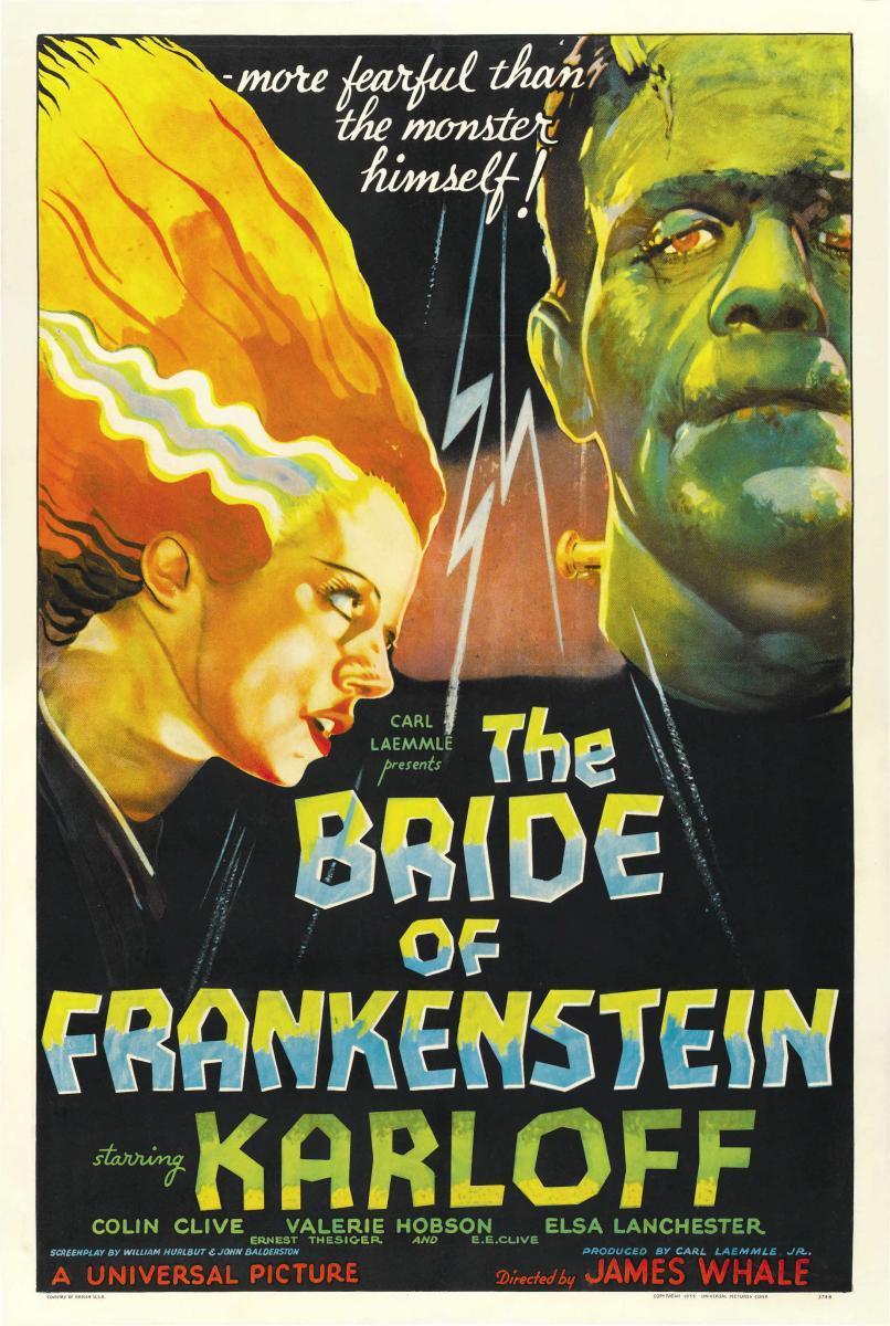 Imagen de portada de La novia de Frankenstein (1935)