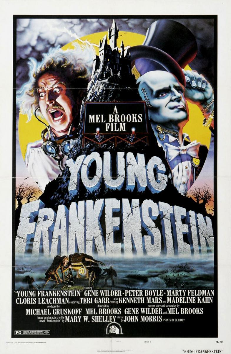 Imagen de portada de El jovencito Frankenstein (1974)