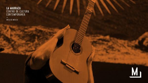 Imagen de portada de Raúl Cantizano: El baile de las cuerdas. Un concierto de guitarra preparada