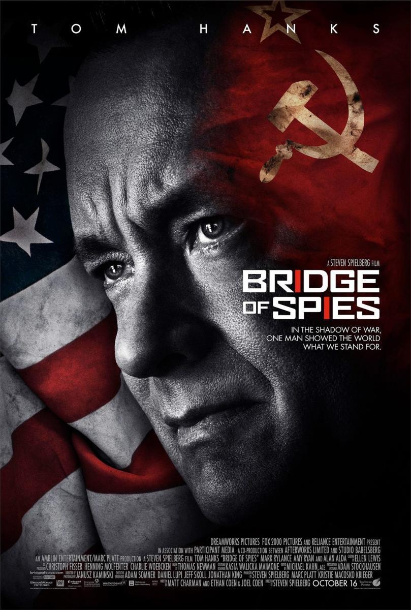 Imagen de portada de El puente de los espías (2015)