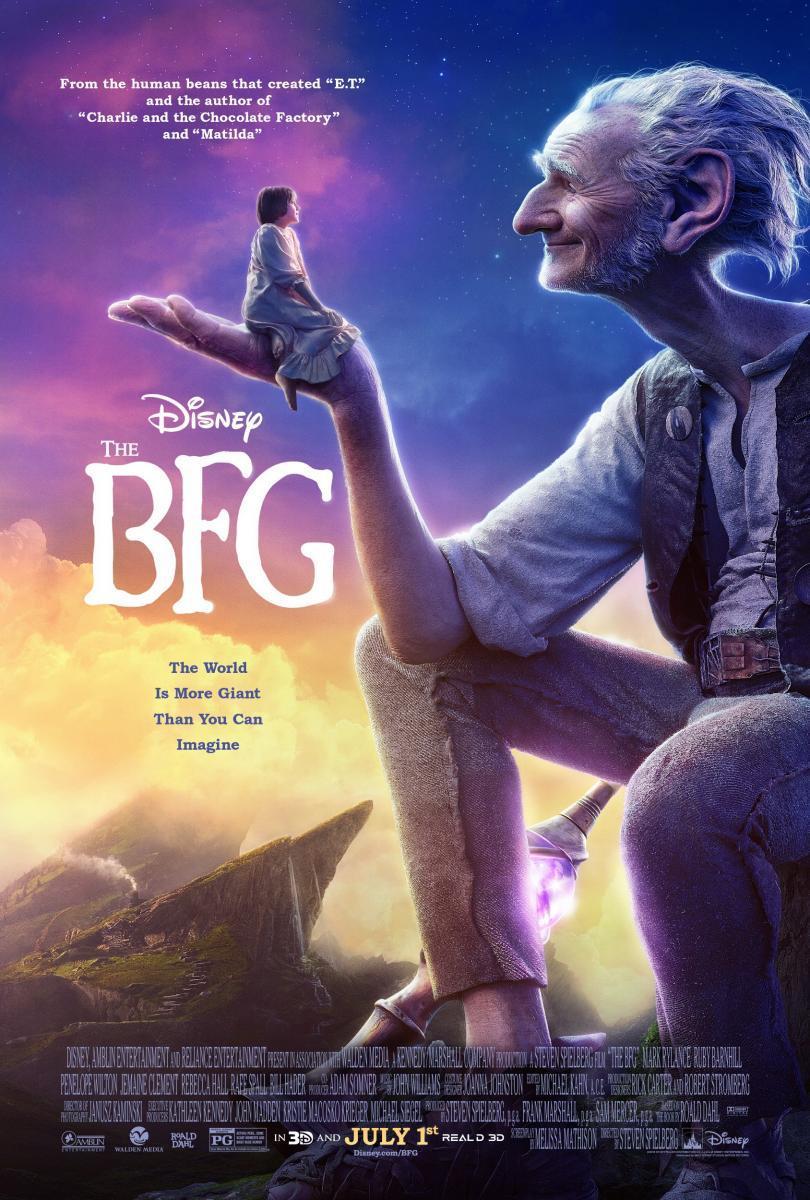 Imagen de portada de Mi amigo el gigante (2016)