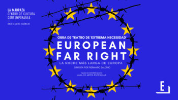 Imagen de portada de Representación teatral «European far right»