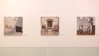 "Imagen de portada de Exposición ""Etimología de la Nostalgia"", de Carmen González Castro"