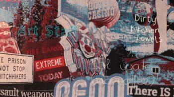 Imagen de portada de Exposición «Mapa tejido de la interestatal 80», de Mariana Piñar Castellano