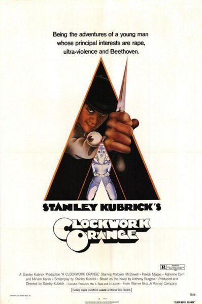 Imagen de portada de La Naranja Mecánica (1971)