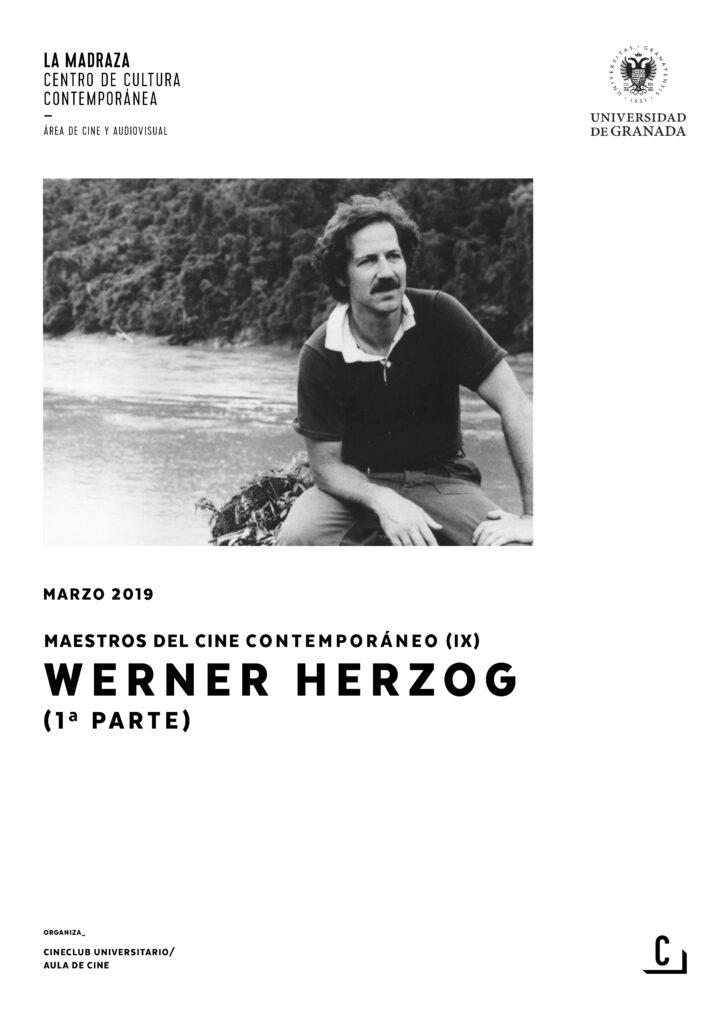 Imagen de portada de Maestros del cine contemporáneo (IX): Werner Herzog (1ªparte)