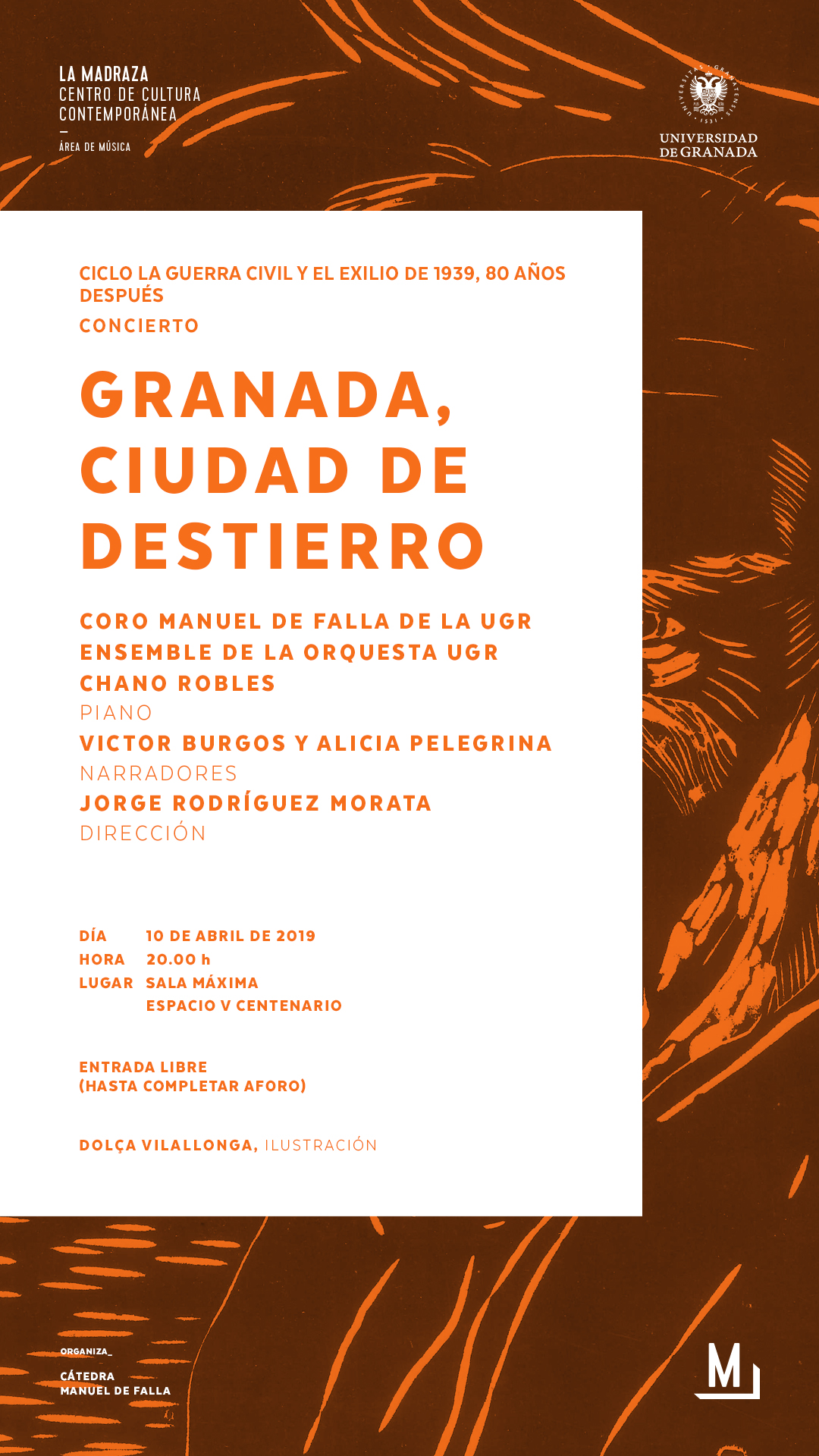 Imagen de portada de Granada, ciudad de destierro