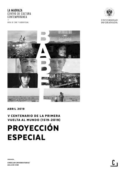 Imagen de portada de Babel – Proyección especial V Centenario primera vuelta al mundo (1519-2019)