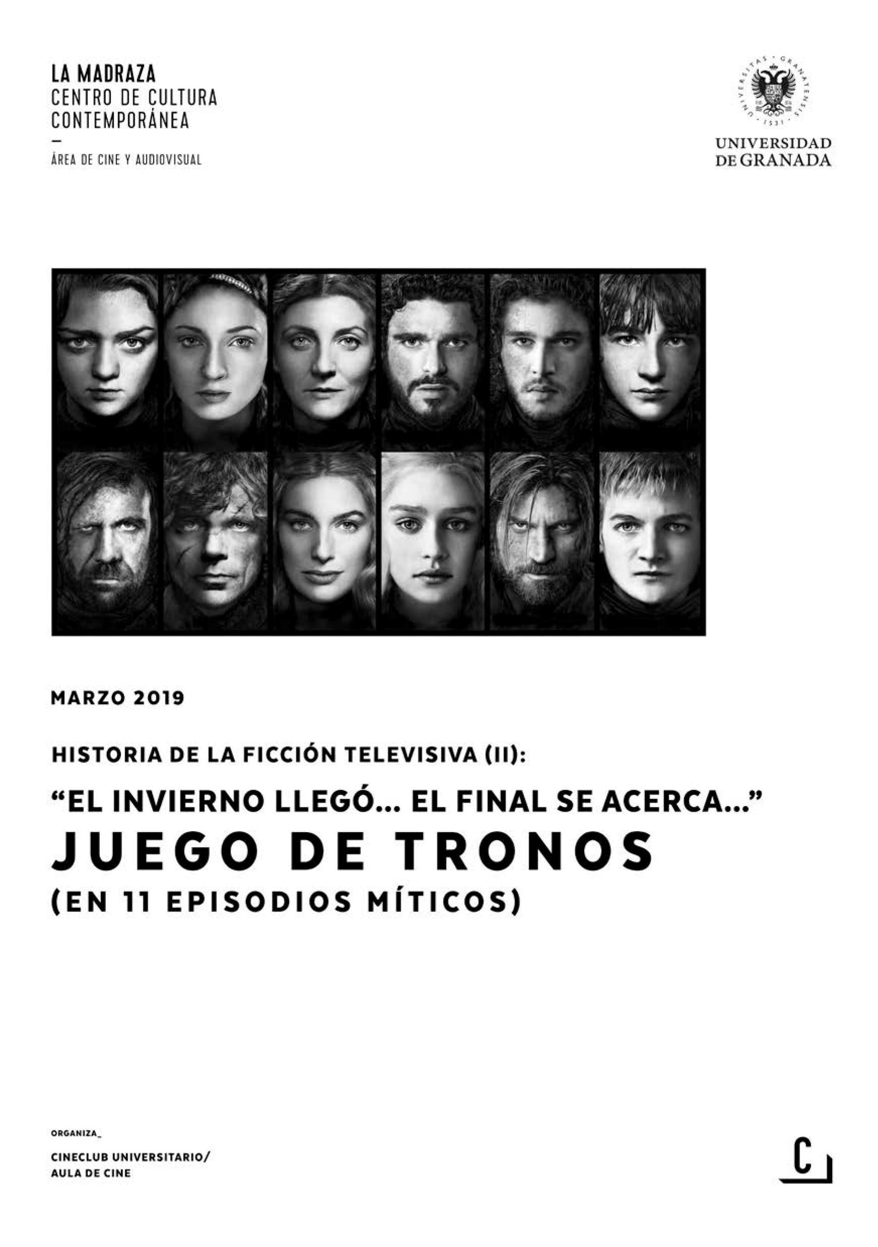 Imagen de portada de Historia de la ficción televisiva (II): «El invierno llegó… el final se acerca…» – Juego de tronos