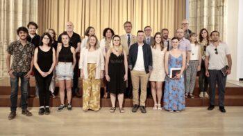Imagen de portada de Entregados los Premios de la UGR a la creación artística para estudiantes universitarios