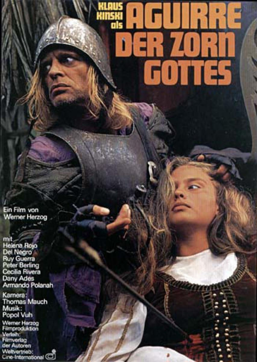 Imagen de portada de Aguirre, la cólera de Dios (1973)