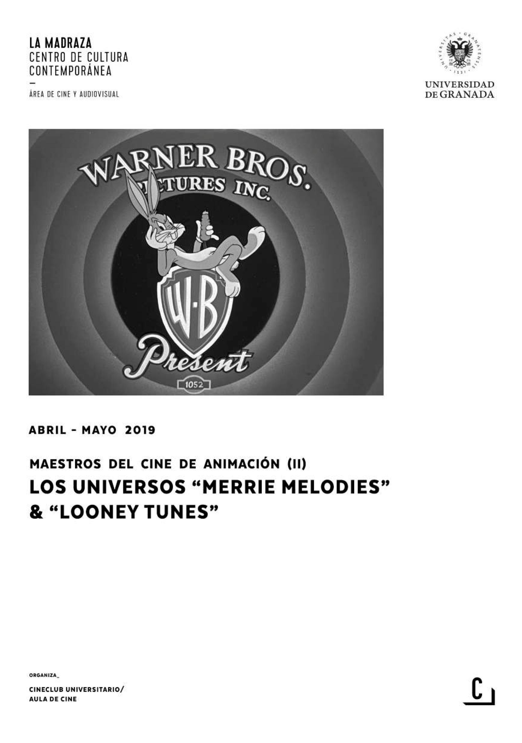 """Imagen de portada de Maestros del cine de animación (II): Los universos """"Merrie Melodies"""" & """"Looney Tunes"""""""