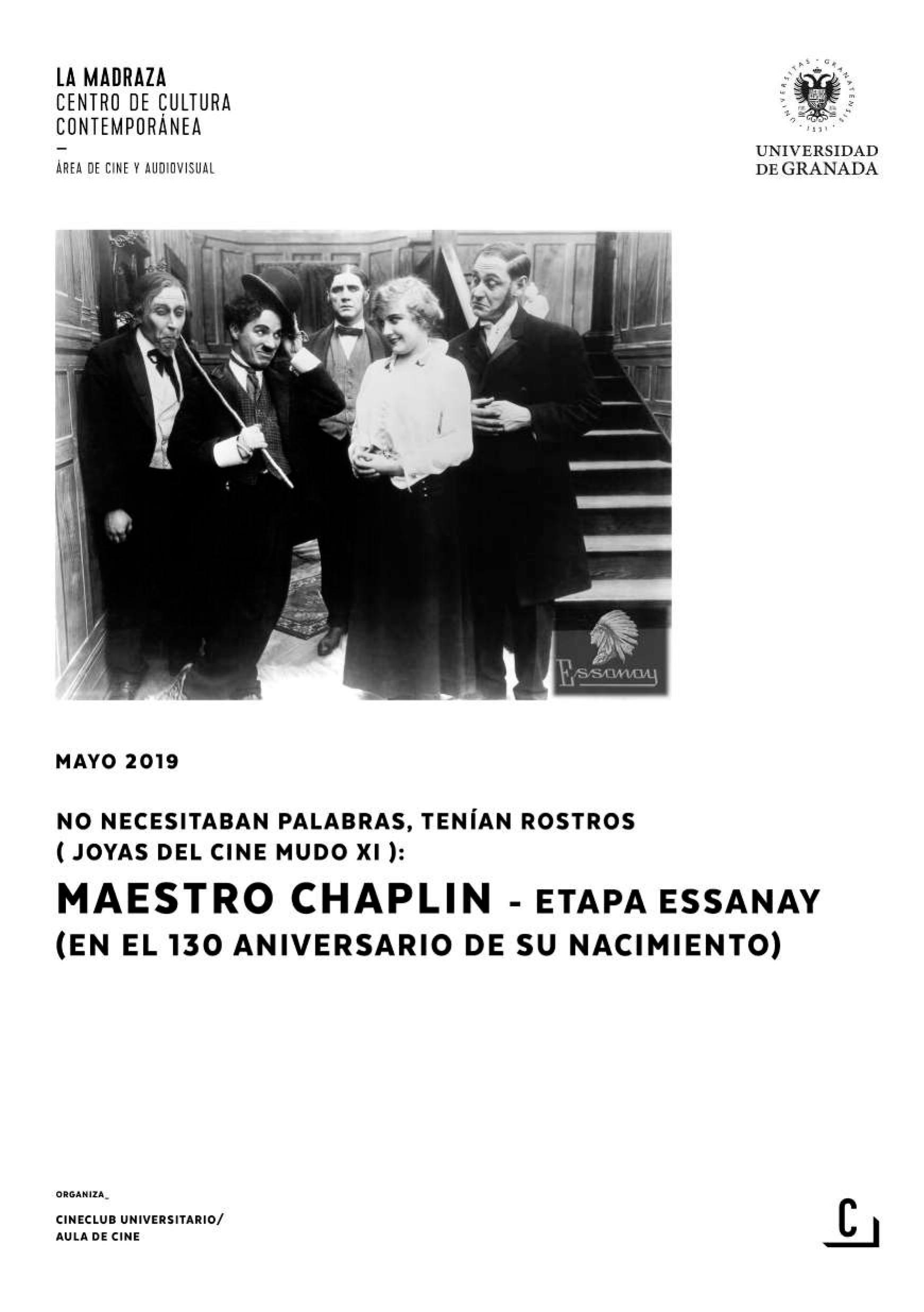 Imagen de portada de No necesitaban palabras, tenían rostros (joyas del cine mudo XI): maestro Chaplin (etapa Essanay)