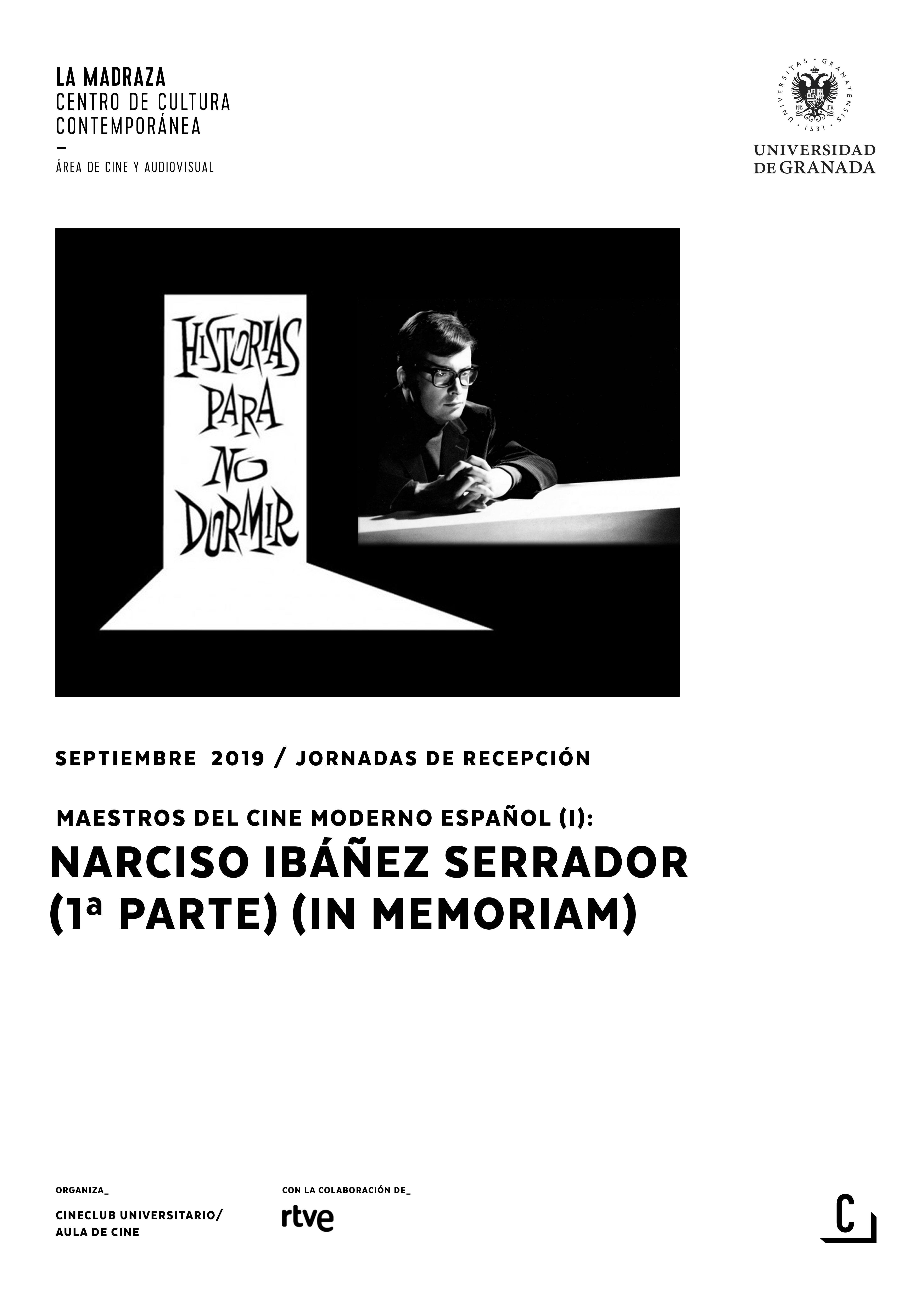 Imagen de portada de Maestros del cine moderno español (I): Narciso Ibáñez Serrador (1ªparte)