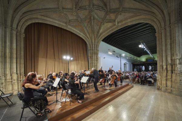 Imágenes del Ciclo orquestal de inauguración curso 2019/20 – (I) ORQUESTA CIUDAD DE GRANADA