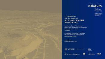 Imagen de portada de Presentación del documental «Altiplano: historia de un paisaje»