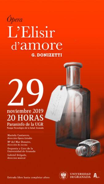 Imagen de portada de Ópera L´Elisir d´amore de Gaetano Donizetti