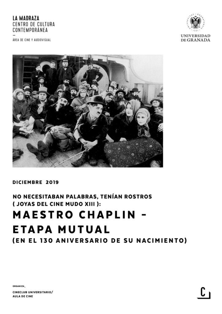 Imagen de portada de No necesitaban palabras, tenían rostros (joyas del cine mudo XIII): Maestro Chaplin – Etapa mutual