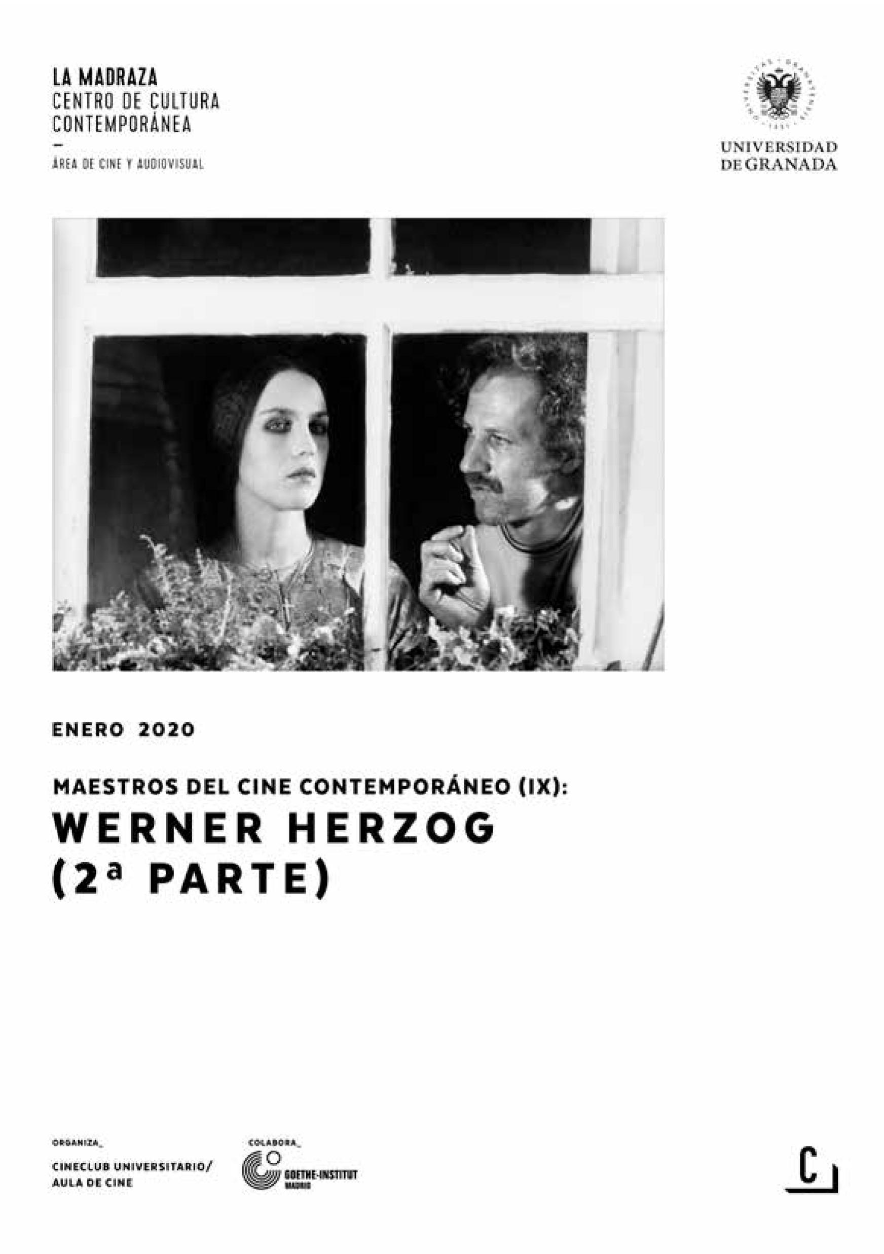 Imagen de portada de Maestros del cine contemporáneo (IX): Werner Herzog (2ª parte)